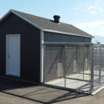 12′ X 20′ RANCH SHED W/ 8 WALLS * DOG KENNEL*