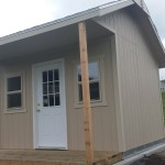 10′ X 12′ RANCH SHED W/ CUSTOM EXTENSION AND DECK