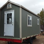 CUSTOM 7′ X 18′ SHED BUILT ON TO TRAILER