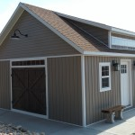 20′ X 20′ SHED WITH DORMER