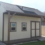 12′ X 16′ RANCH 4′ EXTENSION & PORCH