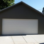 24′ X 24′ GARAGE 8′ WALLS, HARDIE CEMENT LAP SIDING