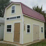 10′ X 20′ BARN WITH METAL ROOF