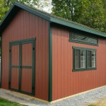 12′ X 16′ RANCH SHED 10′ WALLS