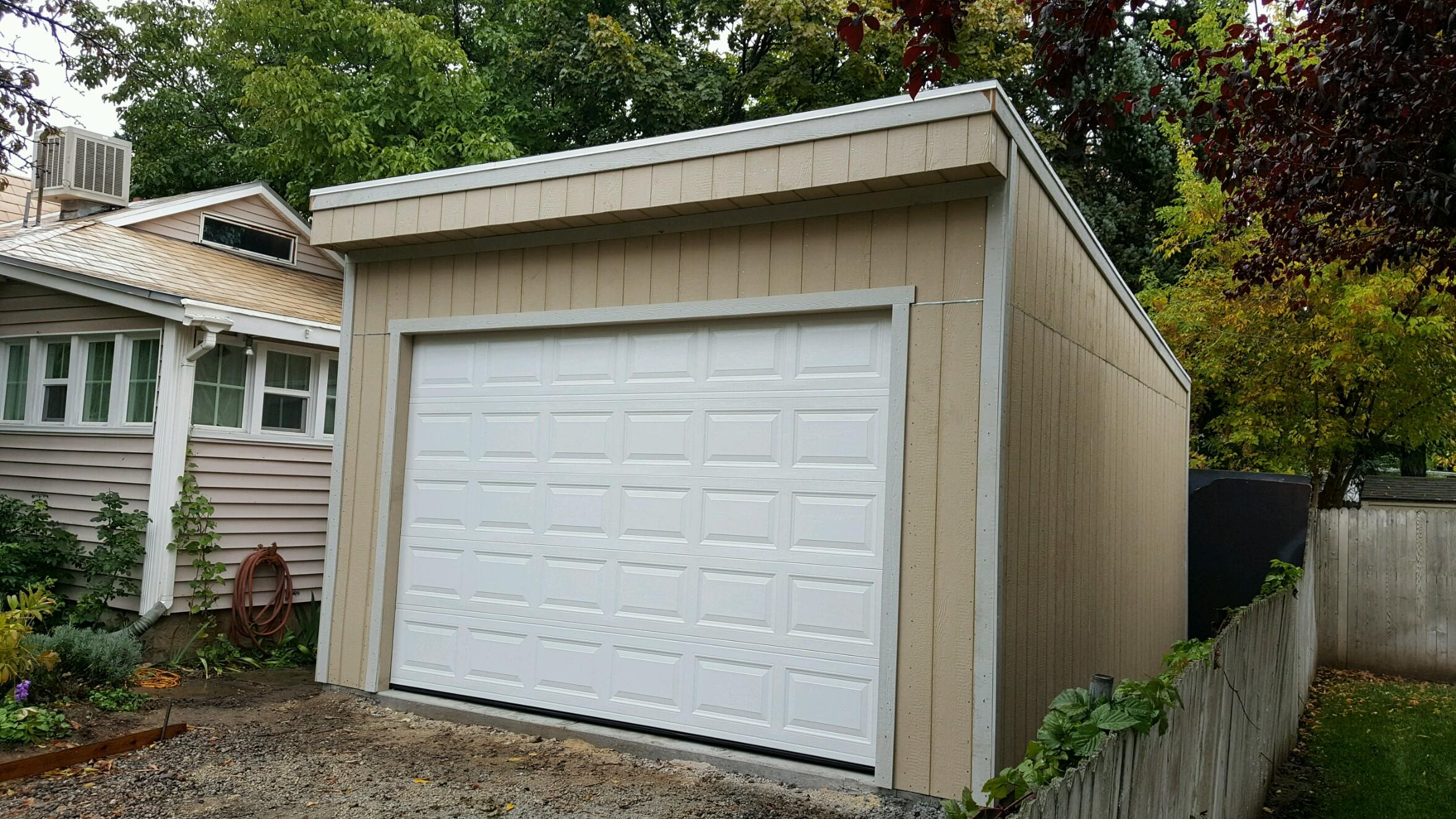Kongsheds gallery category garages for Garage with lean to