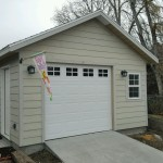 15'X20′ GARAGE 8′ WALLS / NON PAINTED / HARIDE LAP EXTERIOR SIDING