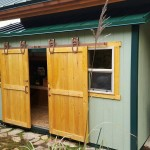 5′ X 15′ LEAN TO SHED / METAL ROOF