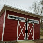 10′ X 20′ LEAN TO SHED / HIGH WALL AT 12′ TAPER TO 10′ LOW WALL