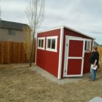 8′ X 12′ LEAN TO SHED