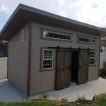 10′ X 18′ LEAN TO SHED